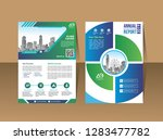 cover template a4 size.... | Shutterstock .eps vector #1283477782