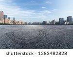 panoramic skyline and modern...   Shutterstock . vector #1283482828