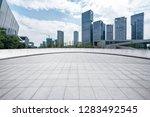 panoramic skyline and modern... | Shutterstock . vector #1283492545