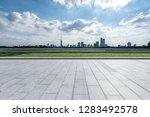 panoramic skyline and modern... | Shutterstock . vector #1283492578