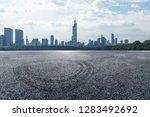 panoramic skyline and modern... | Shutterstock . vector #1283492692