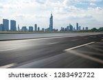panoramic skyline and modern... | Shutterstock . vector #1283492722