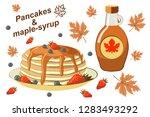 beautiful vector illustration... | Shutterstock .eps vector #1283493292