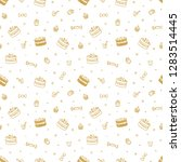 vector holiday or birthday... | Shutterstock .eps vector #1283514445