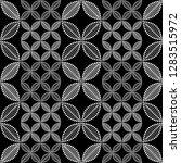 seamless black and white... | Shutterstock .eps vector #1283515972