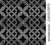 seamless black and white... | Shutterstock .eps vector #1283515975