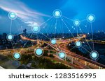 5g network wireless systems and ... | Shutterstock . vector #1283516995