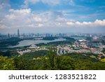 nanjing city  jiangsu province  ... | Shutterstock . vector #1283521822