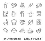 set of food icons  such as... | Shutterstock .eps vector #1283544265