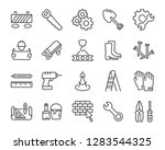 set of work icons  such as...   Shutterstock .eps vector #1283544325