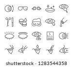 set of eye icons  such as... | Shutterstock .eps vector #1283544358