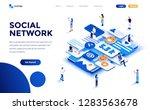 modern flat design isometric... | Shutterstock .eps vector #1283563678