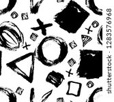 seamless pattern. vector... | Shutterstock .eps vector #1283576968