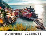 aerial view of vernazza   small ...