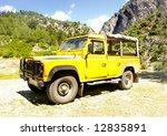 Jeep Safari In Mountains