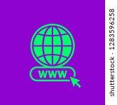 www icon in modern color. web...   Shutterstock .eps vector #1283596258