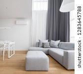 minimalist design living room... | Shutterstock . vector #1283645788