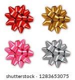 bow set collection vector... | Shutterstock .eps vector #1283653075