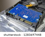hdd. part of hard disk drive.... | Shutterstock . vector #1283697448