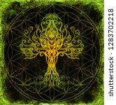 Tree Of Life Symbol On...