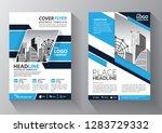 business abstract vector... | Shutterstock .eps vector #1283729332