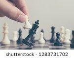 plan leading strategy of...   Shutterstock . vector #1283731702