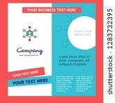 network company brochure...   Shutterstock .eps vector #1283732395