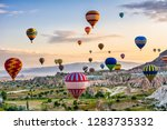 the great tourist attraction of ... | Shutterstock . vector #1283735332