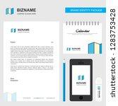 map  business letterhead ... | Shutterstock .eps vector #1283753428