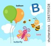 illustration isolated alphabet... | Shutterstock .eps vector #1283755528