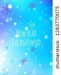 winter background with delicate ... | Shutterstock .eps vector #1283770075