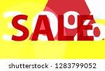 special sale banner  poster... | Shutterstock .eps vector #1283799052