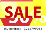 special sale banner or sale... | Shutterstock .eps vector #1283799055