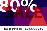 special sale banner  poster... | Shutterstock .eps vector #1283799058