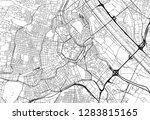 area map of vienna  austria.... | Shutterstock .eps vector #1283815165