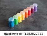 bright colourful powdered...   Shutterstock . vector #1283822782