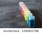 bright colourful powdered...   Shutterstock . vector #1283822788