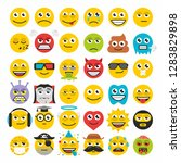 set of emoticons | Shutterstock . vector #1283829898