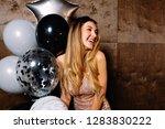 close up portrait of brightful... | Shutterstock . vector #1283830222