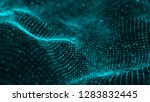 data technology illustration.... | Shutterstock . vector #1283832445