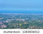 summer panorama republic of san ... | Shutterstock . vector #1283836012