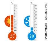 celsius meteorology...   Shutterstock .eps vector #1283837248