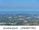 summer panorama republic of san ... | Shutterstock . vector #1283837302