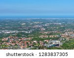 summer panorama republic of san ... | Shutterstock . vector #1283837305