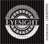 eyesight silvery shiny badge | Shutterstock .eps vector #1283839042