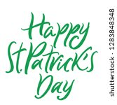 happy saint patrick's day... | Shutterstock .eps vector #1283848348