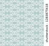 orient vector classic pattern....   Shutterstock .eps vector #1283875618