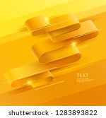 Abstract Yellow Background Of...