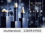hydrating facial cream for... | Shutterstock .eps vector #1283919502