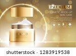 hydrating facial cream for...   Shutterstock .eps vector #1283919538